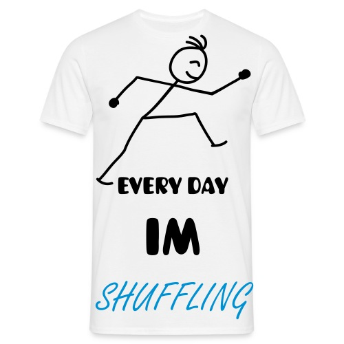 Shuffling - Men's T-Shirt