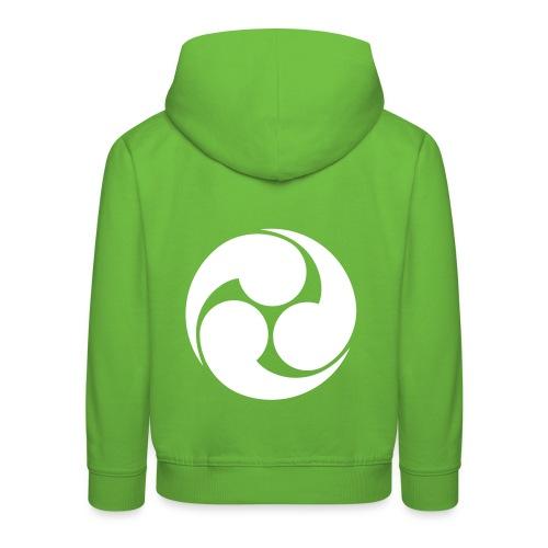 Mittsu-tomoe auf Kinderjacken - Kinder Premium Hoodie