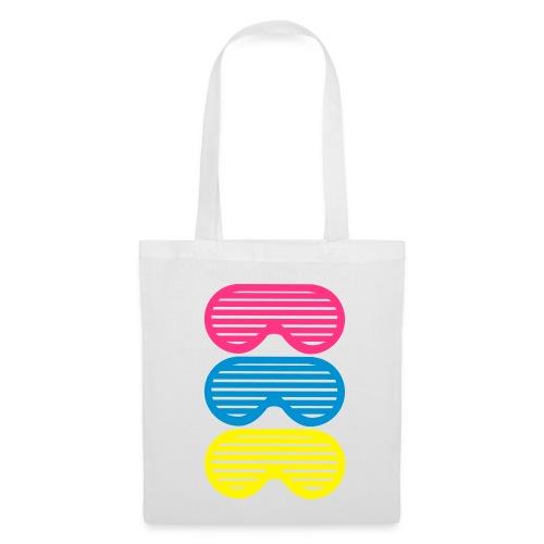 Cabas Sunglasses Rose&Blanc - Tote Bag