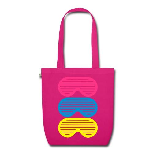 Cabas Sunglasses Pink - Sac en tissu biologique
