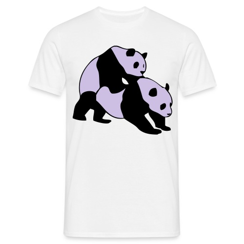 Pandanian love (Guys) - Men's T-Shirt