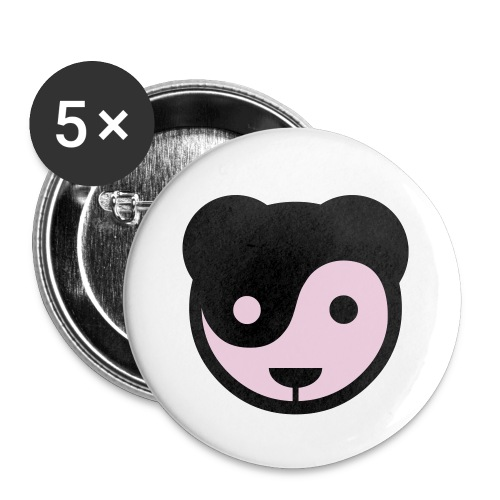 Pandanian love (Guys) - Buttons small 1''/25 mm (5-pack)