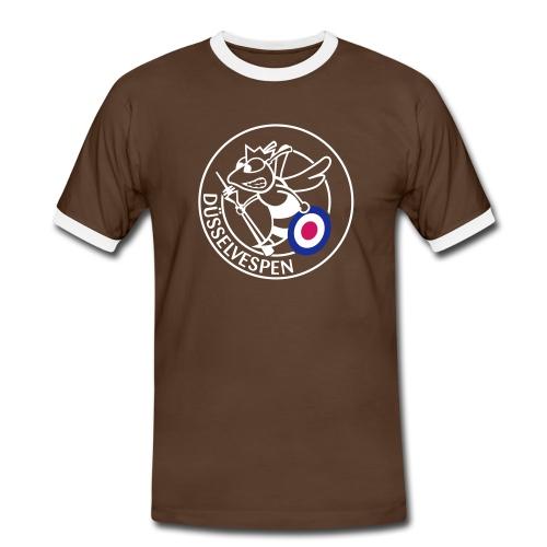 Jungs Retroshirt - Männer Kontrast-T-Shirt