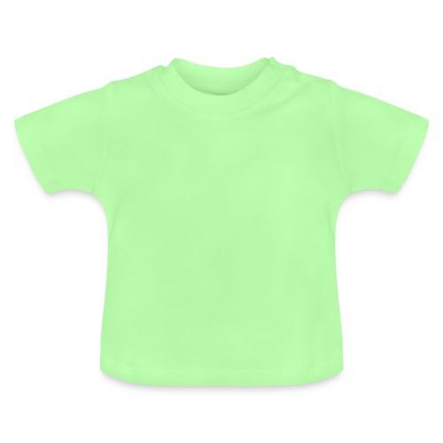 T-SHIRT VERT MENTHE BEBE - T-shirt Bébé