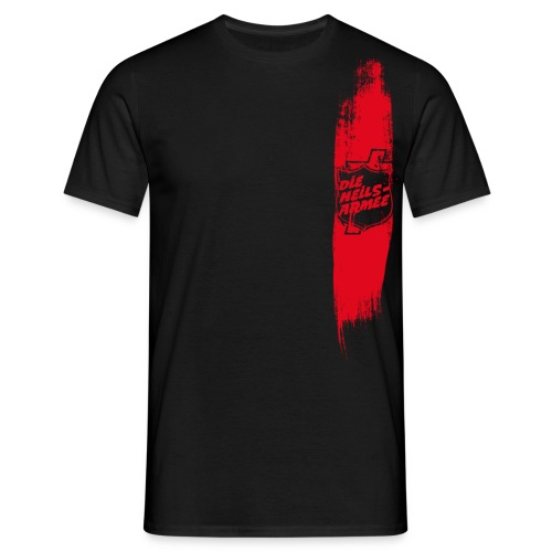 Heilsarmee Shield Streifen (rot) - Männer T-Shirt