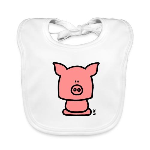 Pig Bib - Bavoir bio Bébé