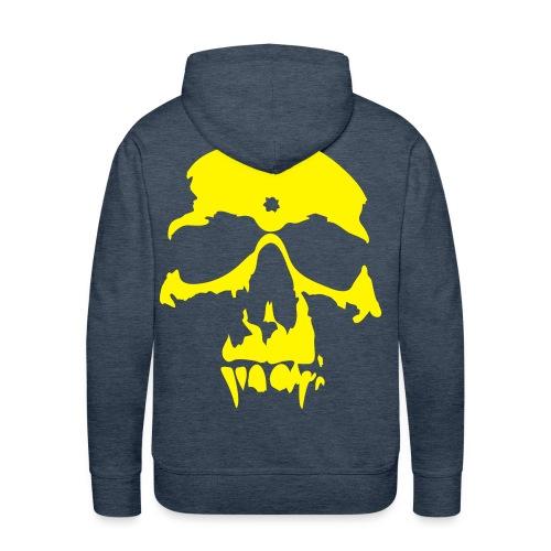 pull homme vert et jaune neon - Sweat-shirt à capuche Premium pour hommes