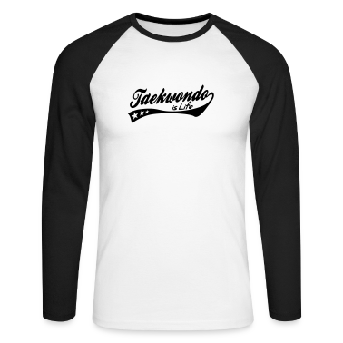 taekwondo is life - retro Long sleeve shirts