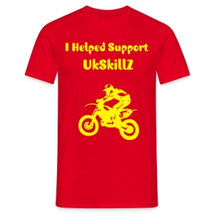 I helped support UkSkillZ T - Shirt - Men's T-Shirt