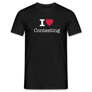 T-shirt - I love Contesting - T-skjorte for menn