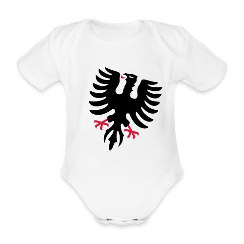 Baby Kurzarm-Body Adler Aarau  - Baby Bio-Kurzarm-Body