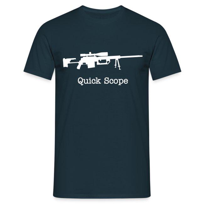Mens Tee : Quick Scope