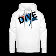 Hoodies & Sweatshirts ~ Men's Premium Hoodie ~ MEN'S HOODIE: Dolphin Dive