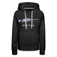 Hoodies & Sweatshirts ~ Women's Premium Hoodie ~ Womens Hoodie : Quick Scope (Lavender)