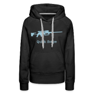 Hoodies & Sweatshirts ~ Women's Premium Hoodie ~ Womens Hoodie : Quick Scope (Baby Blue)