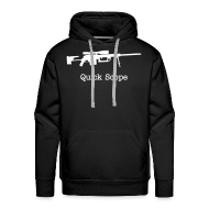 Hoodies & Sweatshirts ~ Men's Premium Hoodie ~ Mens Hoodie : Quick Scope