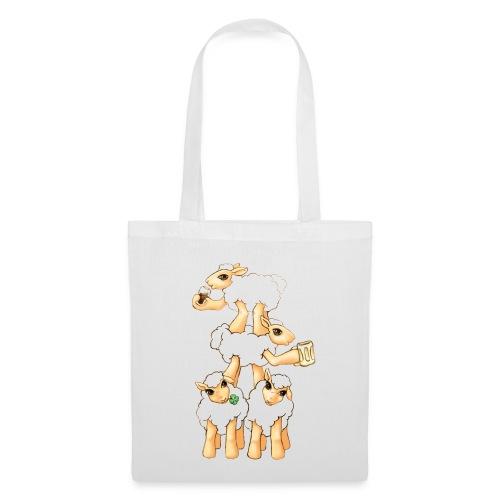 Moutons fêtant la St Patrick - Tote Bag