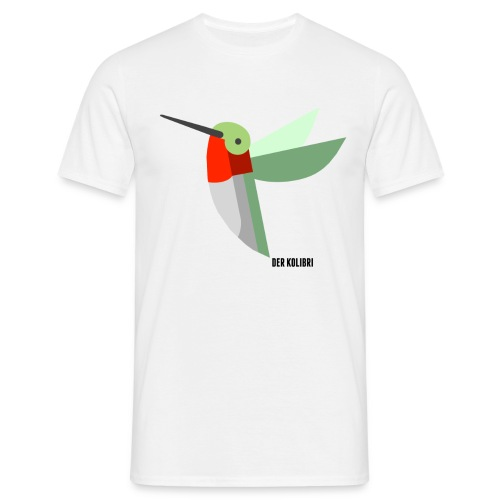KOLIBRI CLASSIC MEN WHITE - Männer T-Shirt