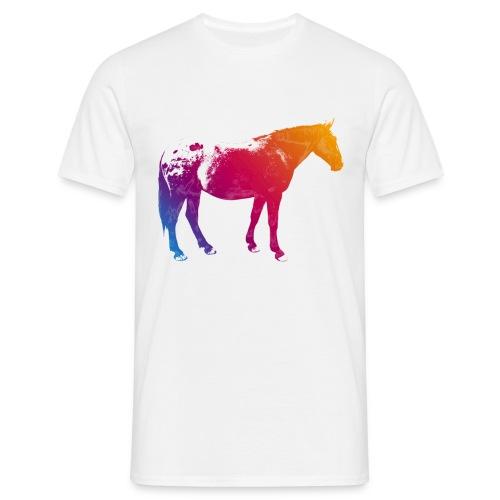 Shirt Rainbow Horse - Männer T-Shirt
