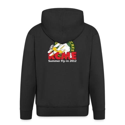 RCME Greenacres 2012 Zip up hoodie - Black - Men's Premium Hooded Jacket