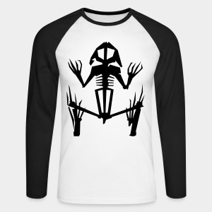 Men's Raglan Long Sleeve - NETZ - Exit Märchenland - Dead Frog - Men's Long Sleeve Baseball T-Shirt