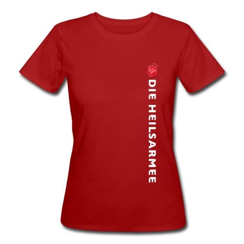 Heilsarmee Type (rot/weiß) - Frauen Bio-T-Shirt