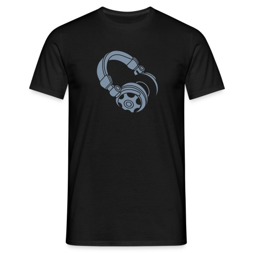 Mens Headphones Tee - Men's T-Shirt