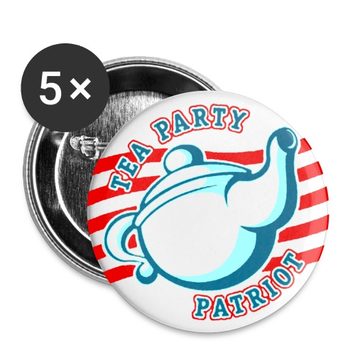 TEA PARTY PATRIOT - Buttons klein 25 mm