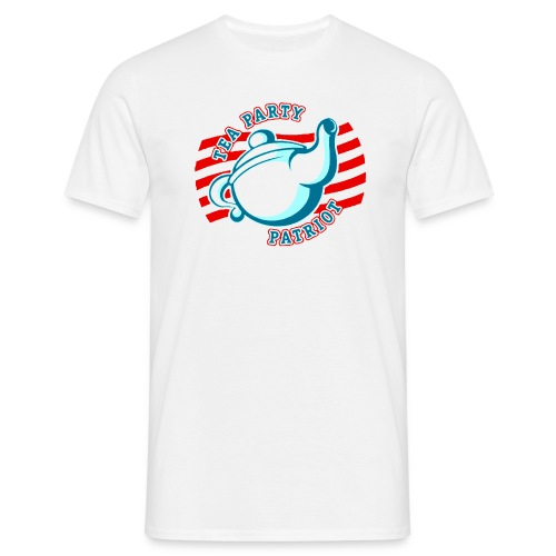TEA PARTY PATRIOT - Männer T-Shirt