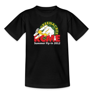 RCME Greenacres 2012 Classic Kid's T-Shirt - Black - Kids' T-Shirt