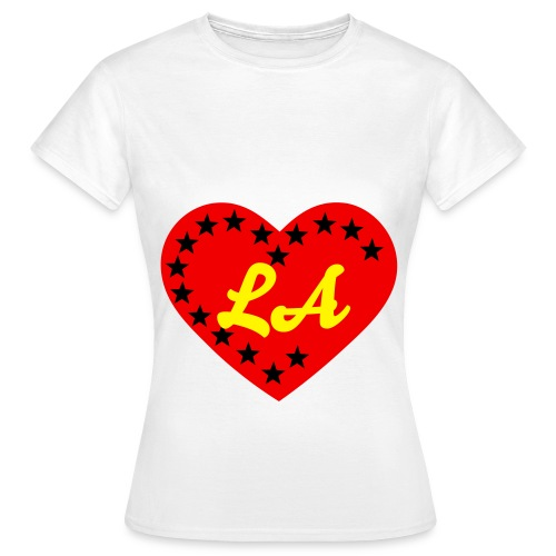 I Love Los Angeles  - Frauen T-Shirt