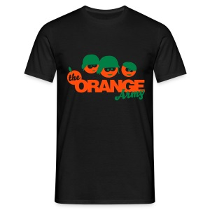 The orange army - Mannen T-shirt