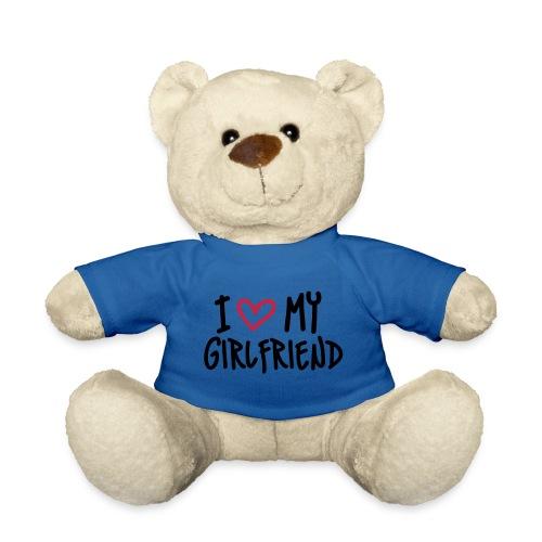 Hvit genser med posetive skrift - Teddybjørn