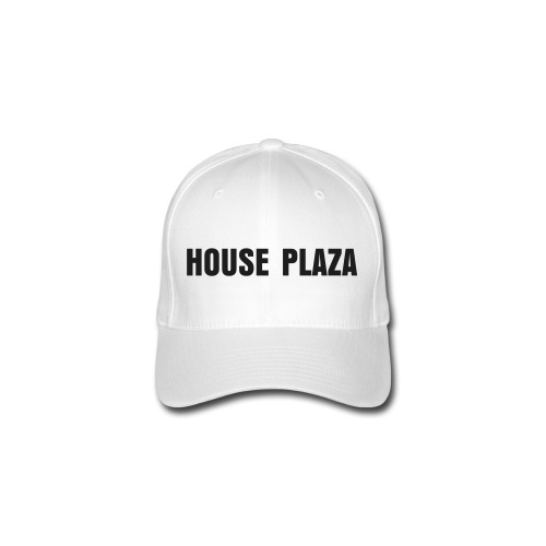 CAP HOUSE PLAZA BLACK - Flexfit baseballcap