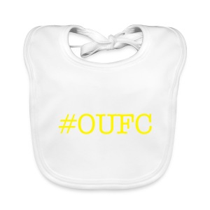 Let your baby puke on #OUFC - Baby Organic Bib