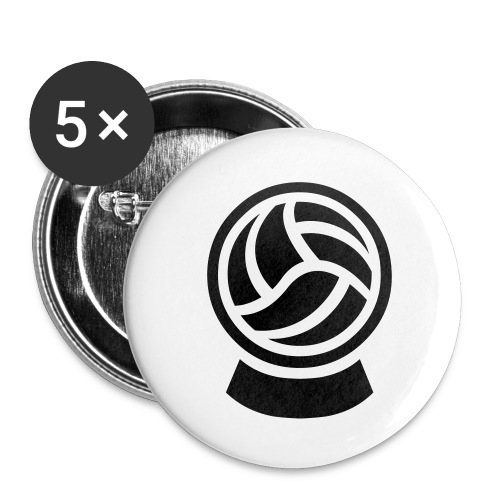 KICKprophet Button-Set (5 Stk.) KLEIN (25mm) - Buttons klein 25 mm (5er Pack)