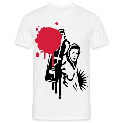 Sprayer - Männer T-Shirt