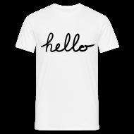 T-shirts ~ Mannen T-shirt ~ Hello