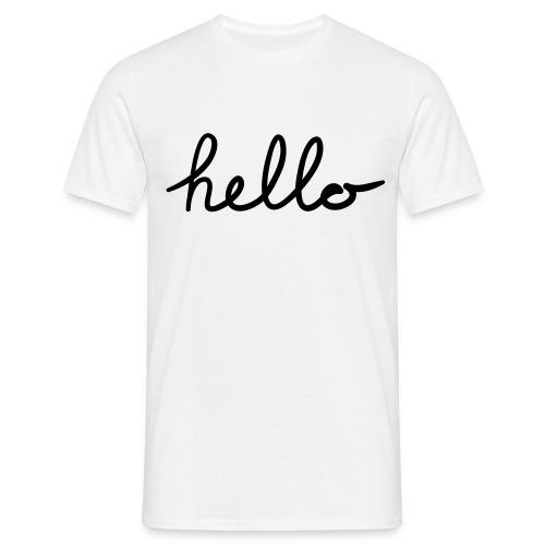 Hello - Mannen T-shirt