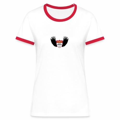 Kölsches Mädche - Frauen Kontrast-T-Shirt