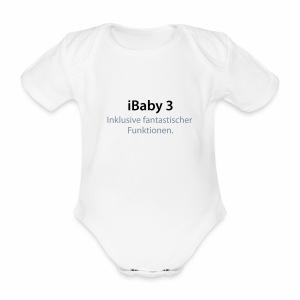 iBaby 3 - Baby Bio-Kurzarm-Body