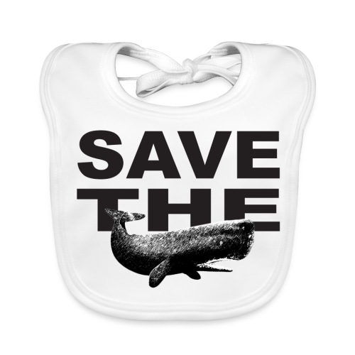 Save the whales - Baby økologisk hagesmæk