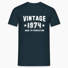 VINTAGE 1974 - Birthday T-Shirt