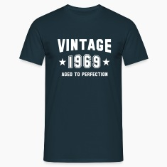 VINTAGE 1969 - Birthday T-Shirt