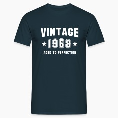 VINTAGE 1968 - Birthday T-Shirt