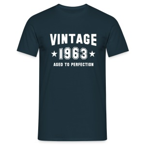 VINTAGE 1963 - Birthday T-Shirt - Men's T-Shirt