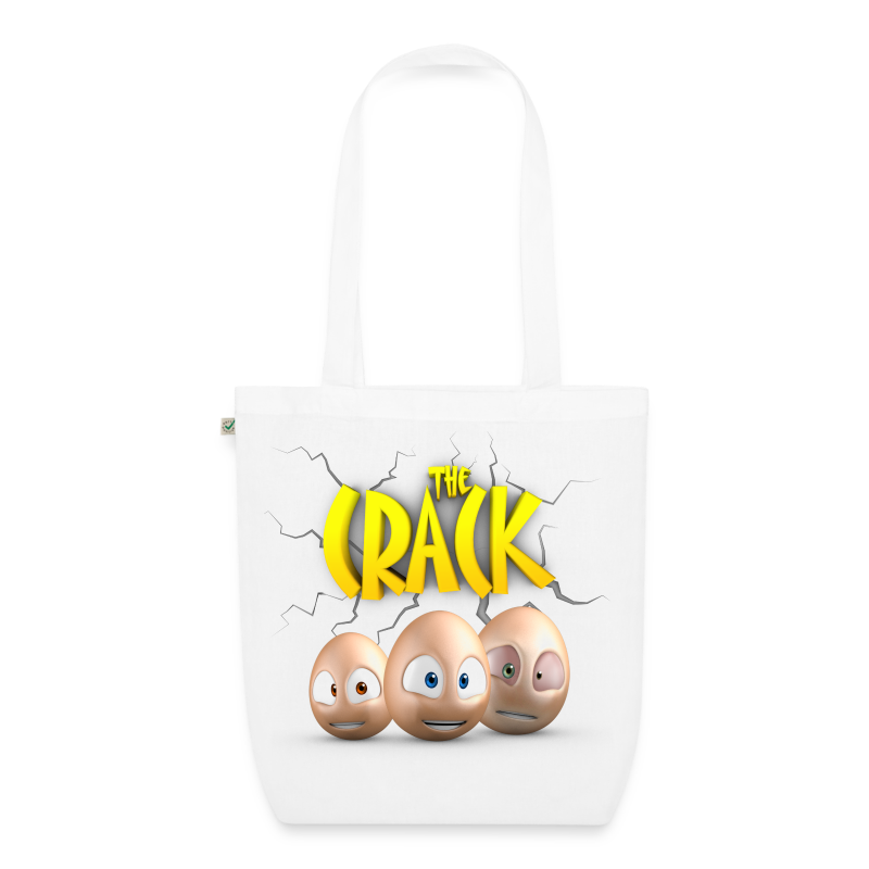 The Crack! Tote Bag - EarthPositive Tote Bag