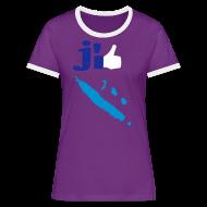 Tee shirts ~ Tee shirt contraste Femme ~ J'aime la Nouvelle Calédonie