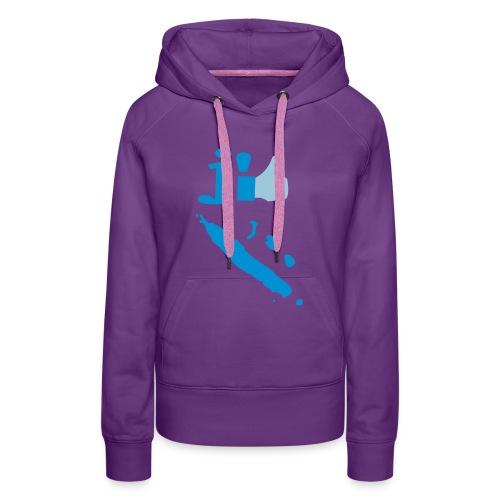 J'aime la Nouvelle Calédonie  - Sweat-shirt à capuche Premium pour femmes