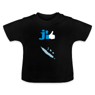 Tee shirts Bébés ~ Tee shirt Bébé ~ J'aime la Nouvelle Calédonie